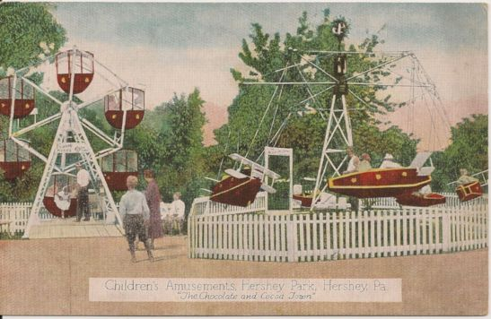1930 - Aeroplane Swing and 1926 Ferris Wheel