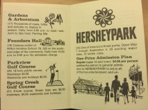 1972 Welcome to Hershey D