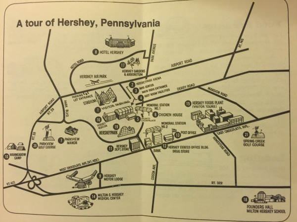 1972 Welcome to Hershey G