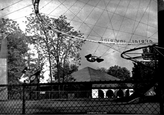 1950 circa Aerial Joy Ride [Ross B. CARE]