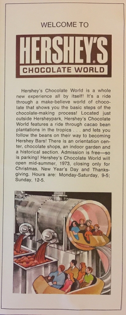 Info on Chocolate World