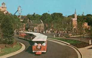 1973 Tram Circle - Grand Concourse - Tudor Square