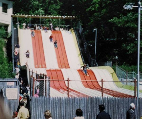 1970 ca Hershey Park Magic Carpet Slide (see comments)