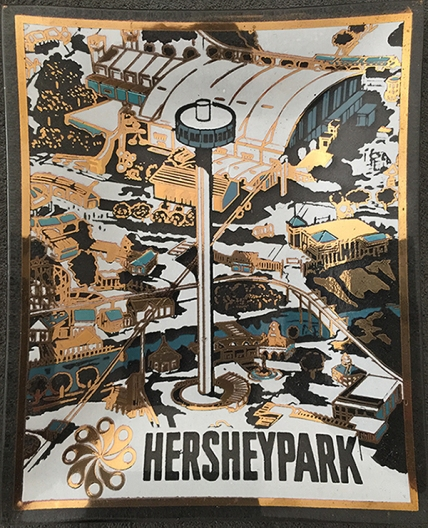 1972 circa Hersheypark Ash Tray (Duell) [large]