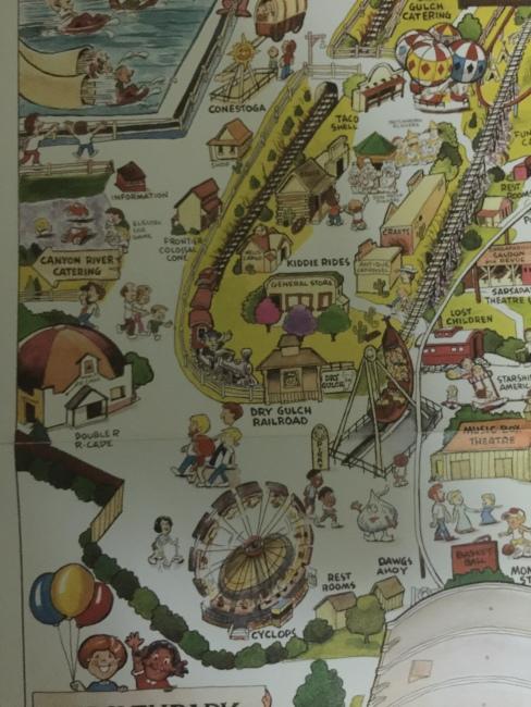 1990 Souvenir map A