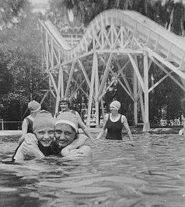 1924-1928 ~ Hershey Park pool 001