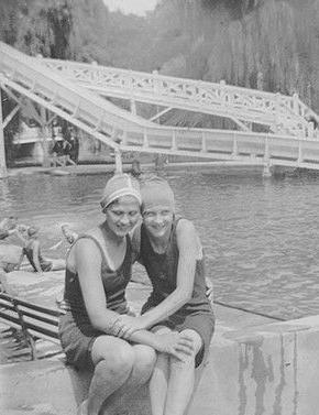 1924-1928 ~ Hershey Park pool 003