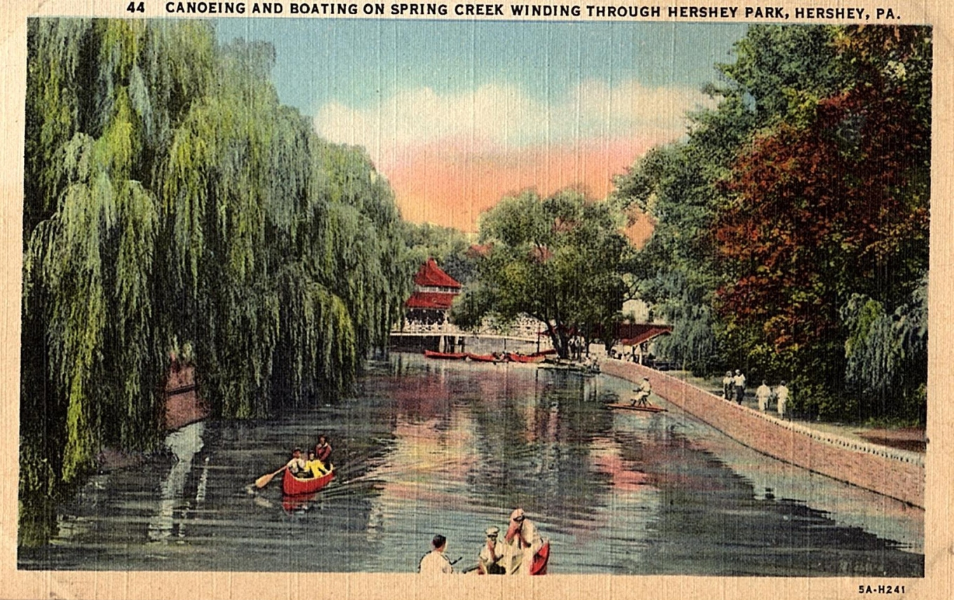 [1935] - 5A-H241 - Canoeing and Boating