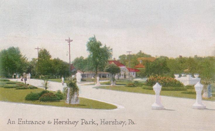 1916 Main Entrance Hersheypark
