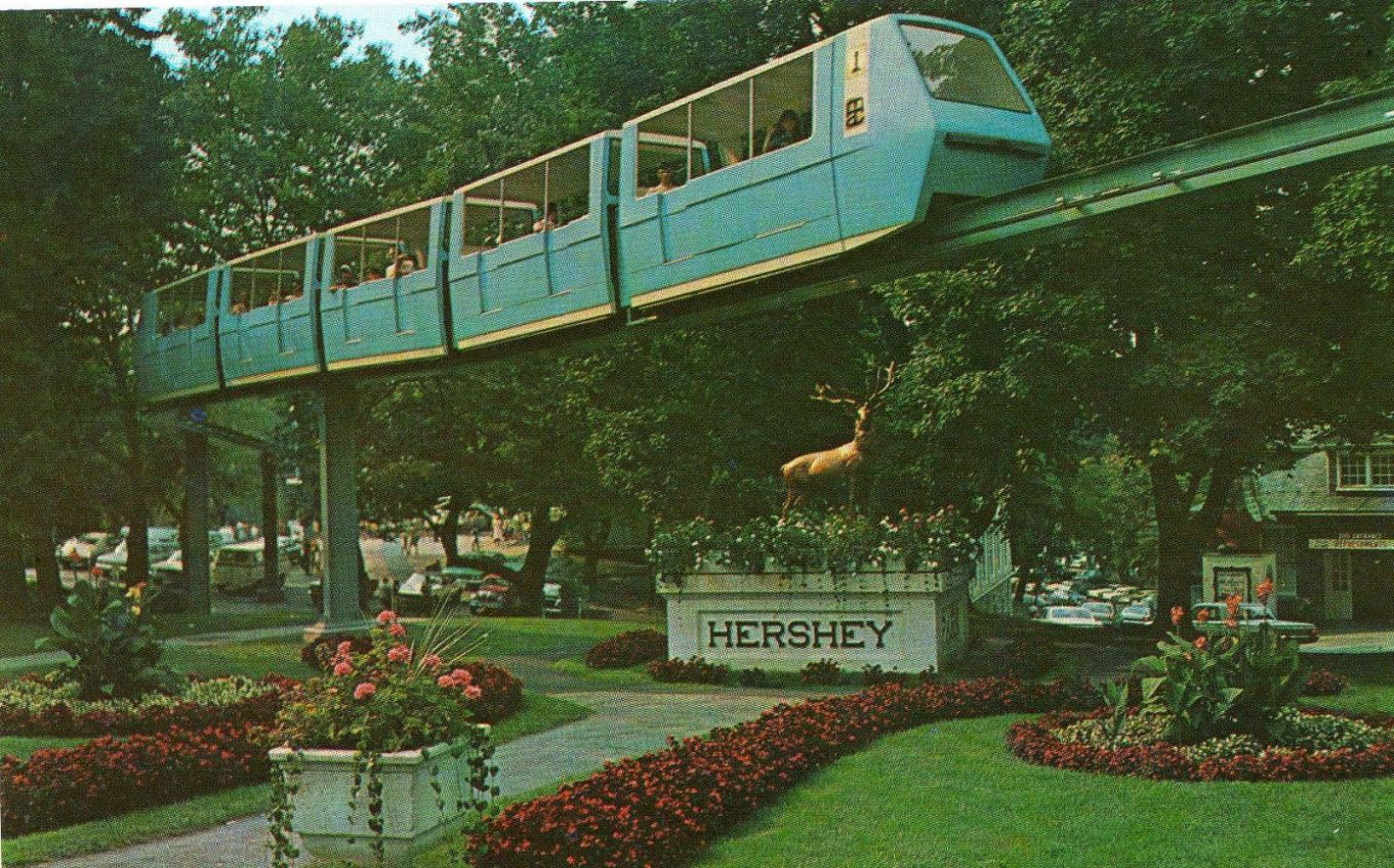 1970 ~ Monorail Elk Entrance