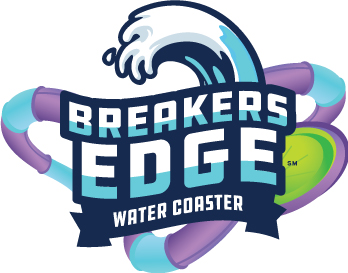 Breakers Edge Water Coaster Logo