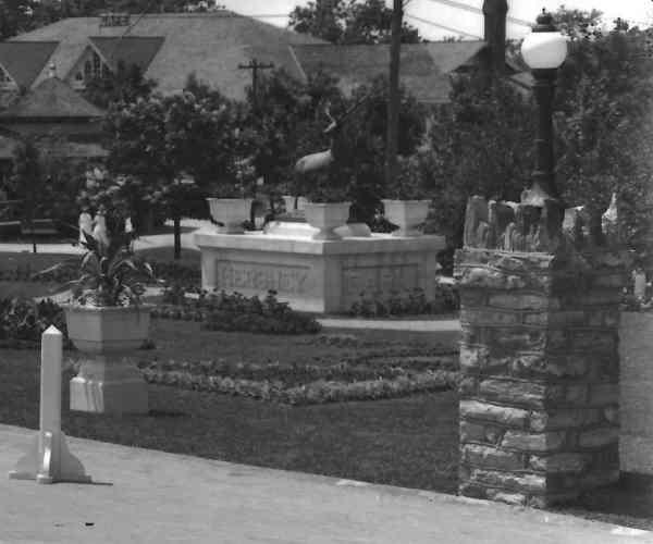1920 ~ Elk Statue at Entrance