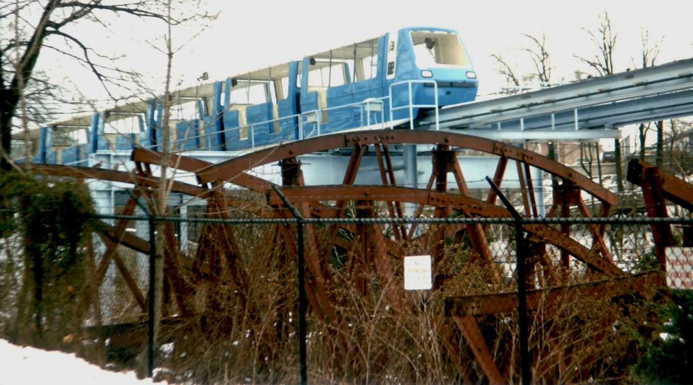 Circa 1984 The Bug scrapped near Monorail [large] [JWGreen]